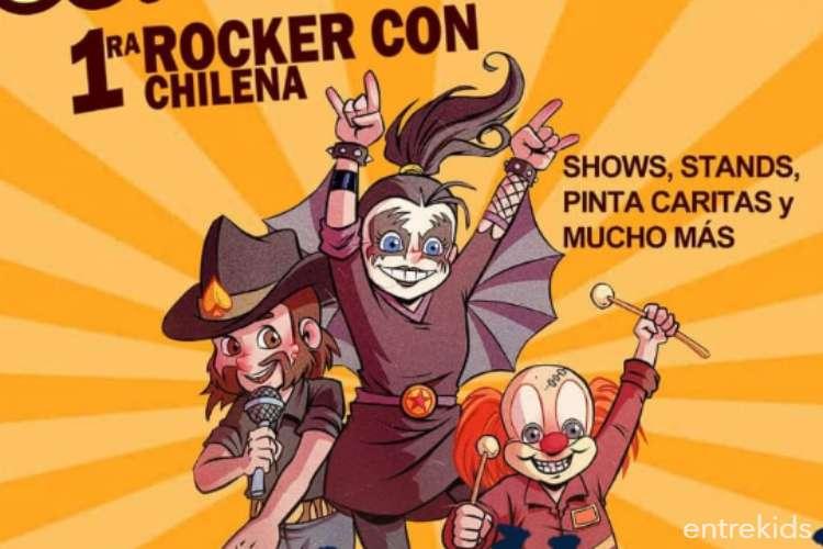 Rocker Con Chilena en Teatro Municipal de Ñuñoa