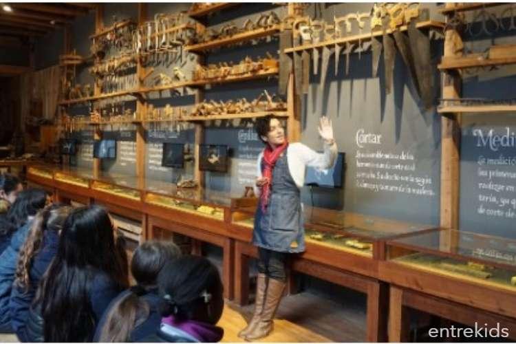 Visita el Museo Taller, un encuentro con la madera