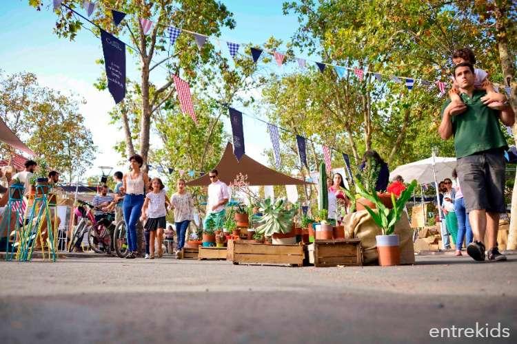 Mercado Mastica en el Parque Bicentenario