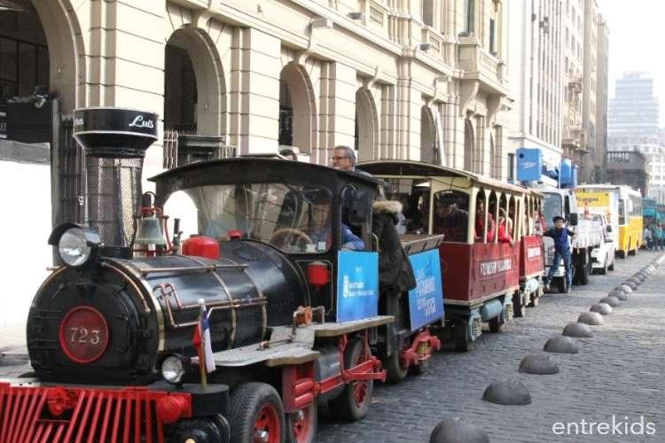 Día del Patrimonio: Tren Patrimonial por Santiago