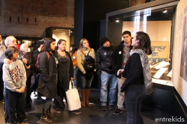 Sala Museo Gabriela Mistral en el Día del Patrimonio