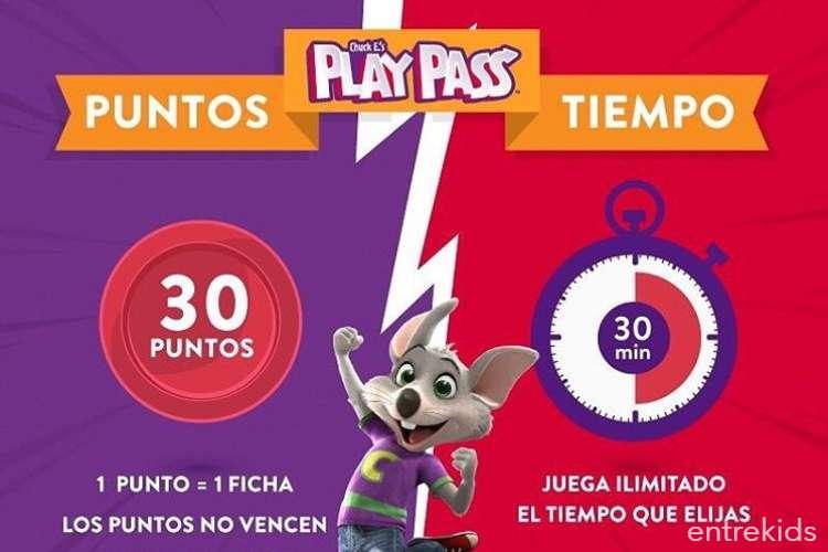 Pizza Mediana + Bebidas ilimitadas + Puntos para jugar