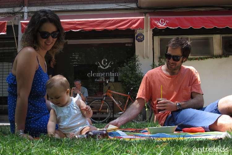 Picnic urbano en Clementina (Colación o Té)