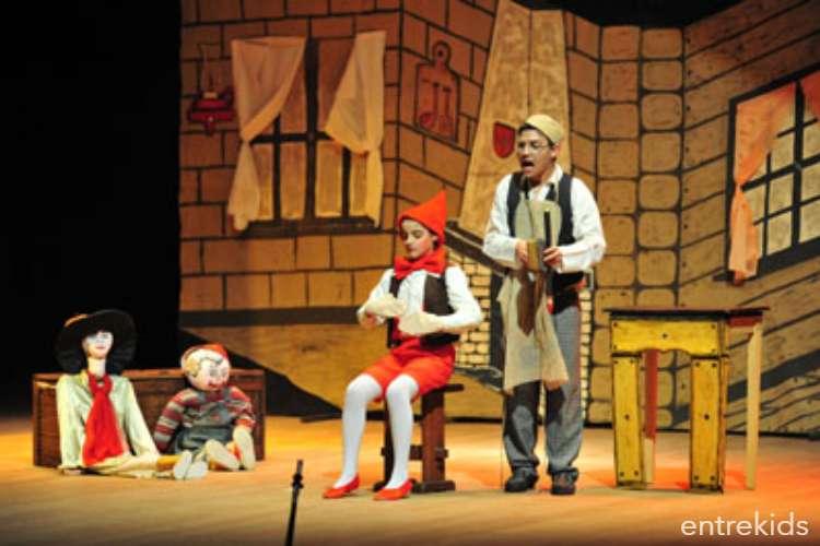 Teatro Infantil: Pinocho en el Teatro Municipal de Ñuñoa