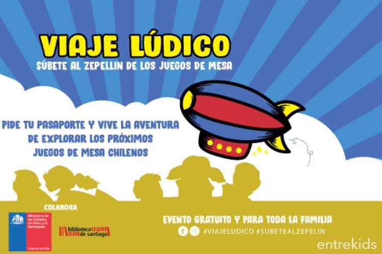 Viaje Lúdico en la Biblioteca de Santiago