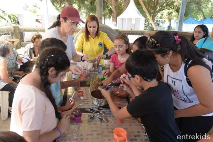 Talleres de cocina alternativa en la Granja Alimentaria de Maipú