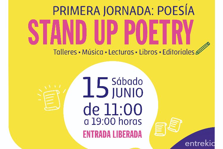 Primera Jornada: Poesía Stand Up Poetry