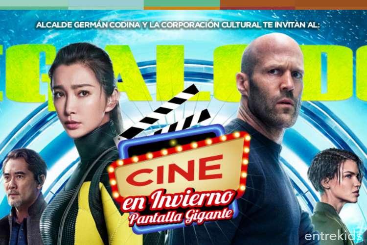 """Cine en Invierno """"Megalodón"""" en Puente Alto"""