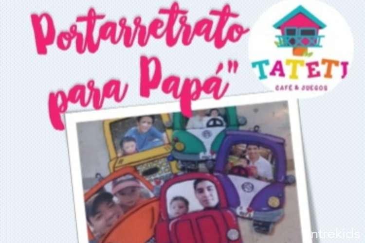 Porta retrato para papá en Casa Tateti