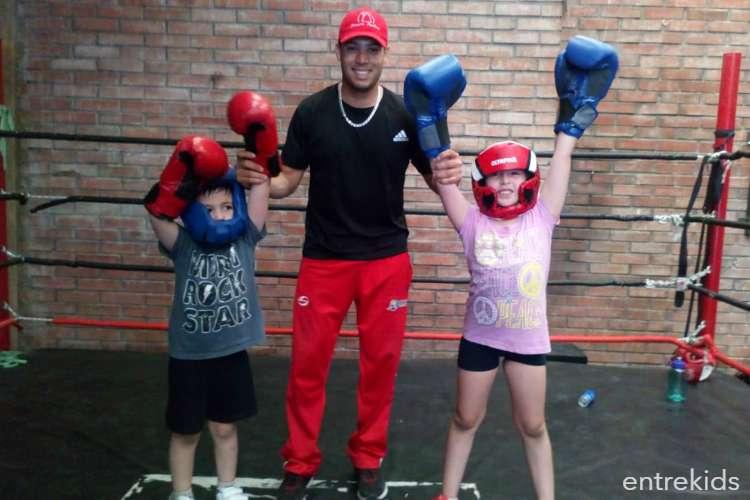 Entrenamiento de Boxeo para Niños