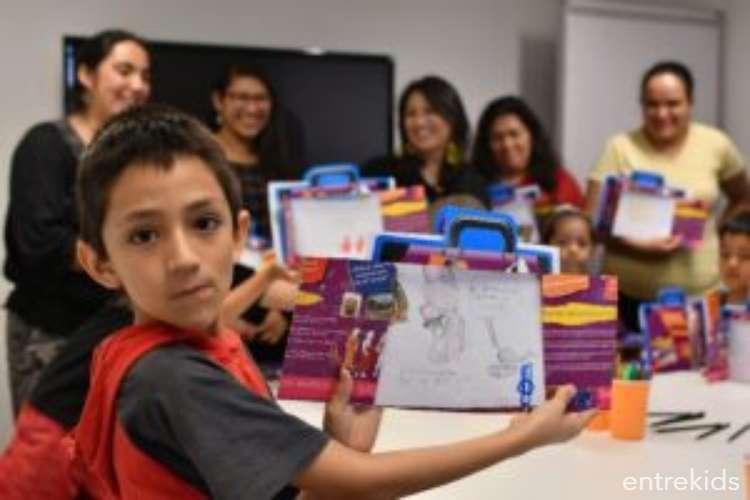 Escuela de Invierno en el GAM: Taller de lectura familiar