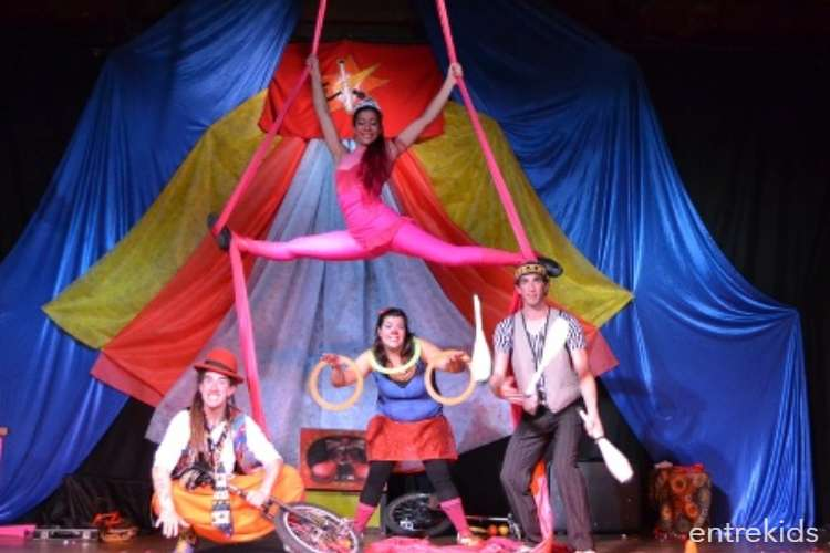 """Circo Teatro: """"Las Trampas de Fumeke"""" en Parquemet"""