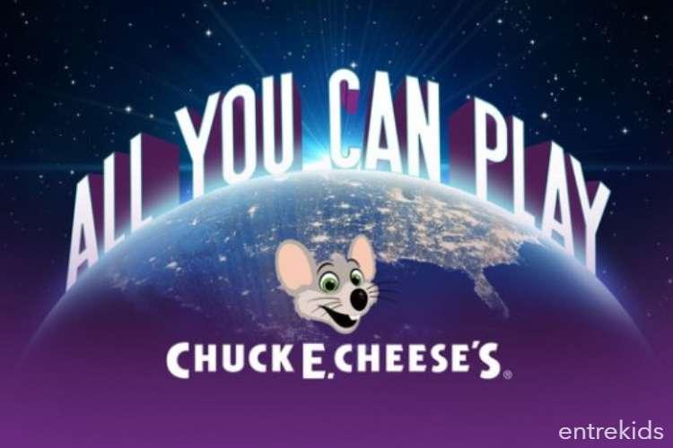 Tiempo para juego en Chucke Cheese