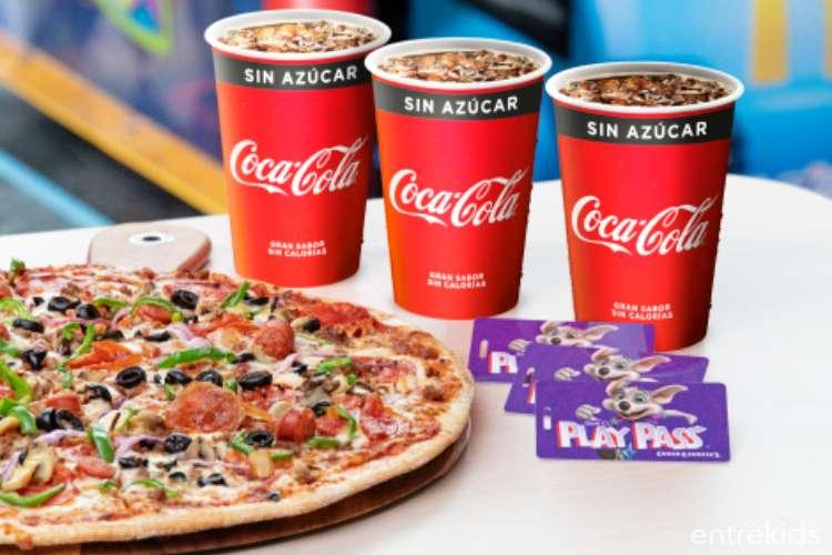 Vacaciones + Pizzas + Juegos en Familia con Chucke Cheese