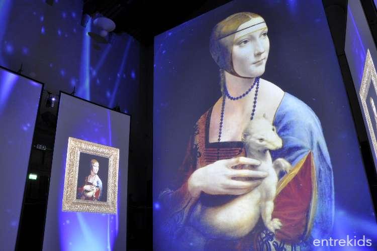 """Ven a vivir la muestra inmersiva:""""Da Vinci Experience"""" en Museo Artequin"""