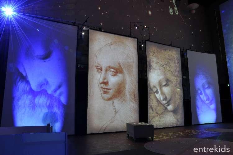 Talleres de Invierno: Unas vacaciones con Leonardo Da Vinci