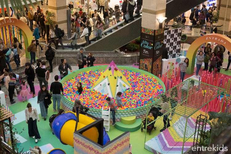 """Vacaciones de Invierno """"Alto Color"""" en Alto Las Condes"""