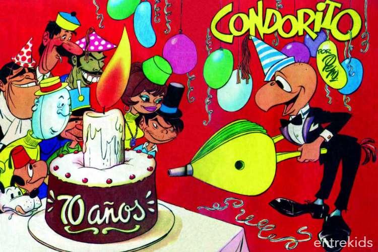 Los 70 años de Condorito en la Biblioteca Nacional