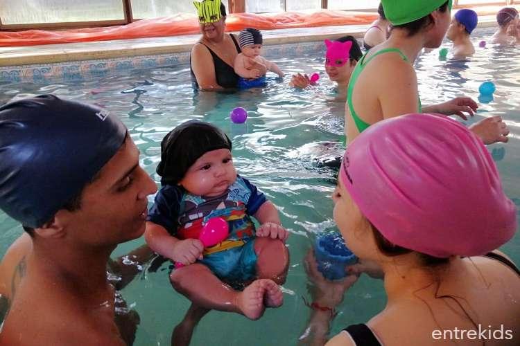 Clases de natación para bebés en Color Splash - Rancagua