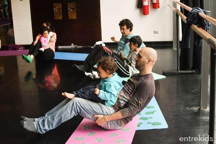 Yoga Kundalini para la familia en el GAM