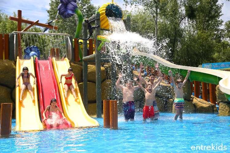 Parque Oasis - Disfruta de 6 piscinas y toboganes en familia
