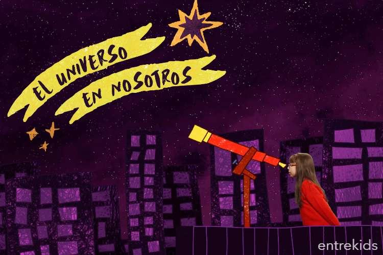 """Lanzamiento de la serie animada """"El universo en nosotros"""""""