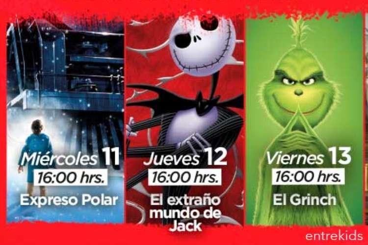 Ciclo Especial de Cine de Navidad en Puente Alto