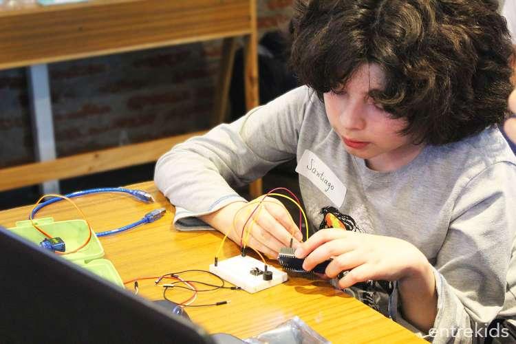Taller de electrónica con Arduino para niños