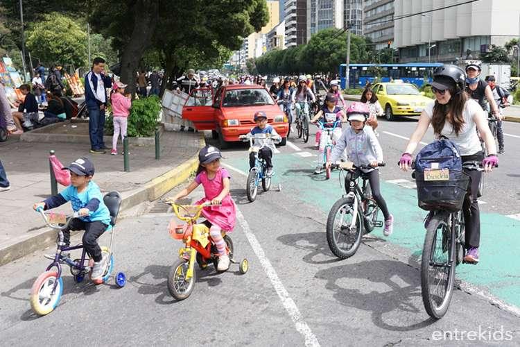 Cicletada de las Niñas - Santiago