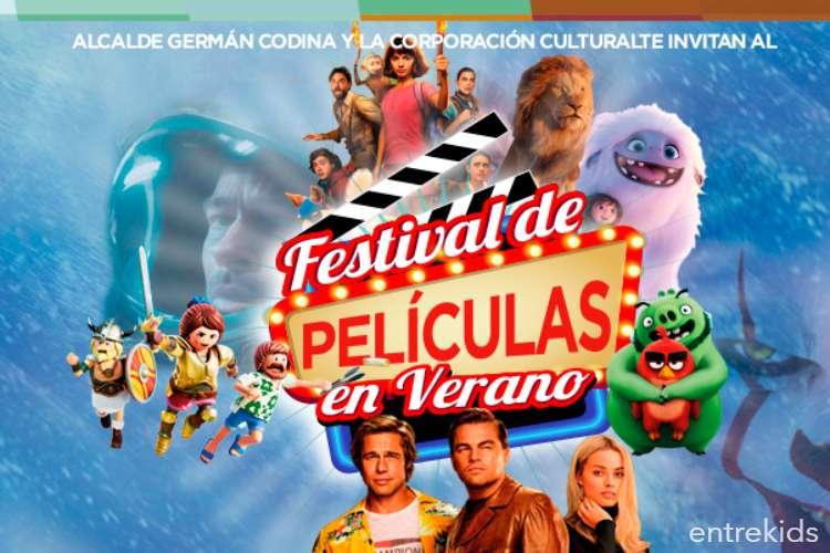 Festival de películas de verano en el Centro Cultural de Puente Alto