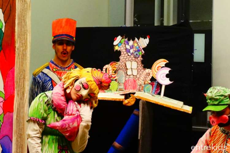 Obras de teatro infantil en Arauco El Bosque