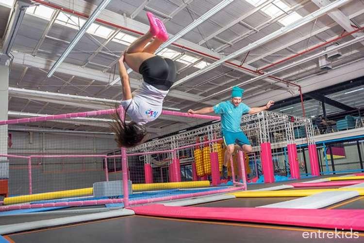 Ven a Jumper Trampoline Park Puente Alto