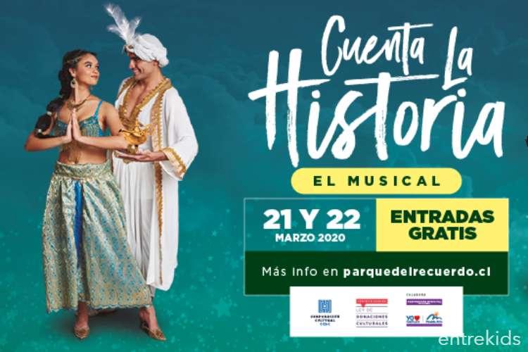 """Musical """"Cuenta la Historia"""" en Parque del Recuerdo"""