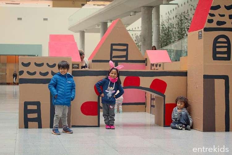Sé un artista con las actividades del Centro Cultural La Moneda