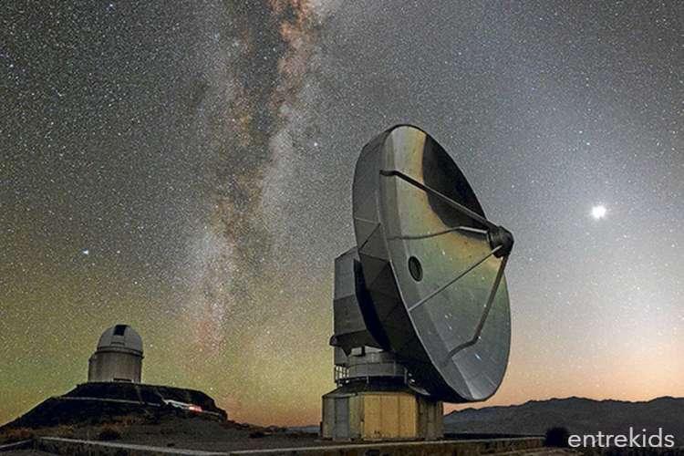 Aprende sobre el universo con el Observatorio ALMA