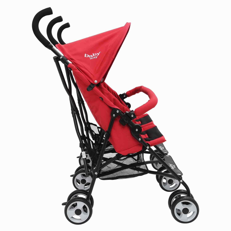 Coche Paragua Doble Baby Way Rojo