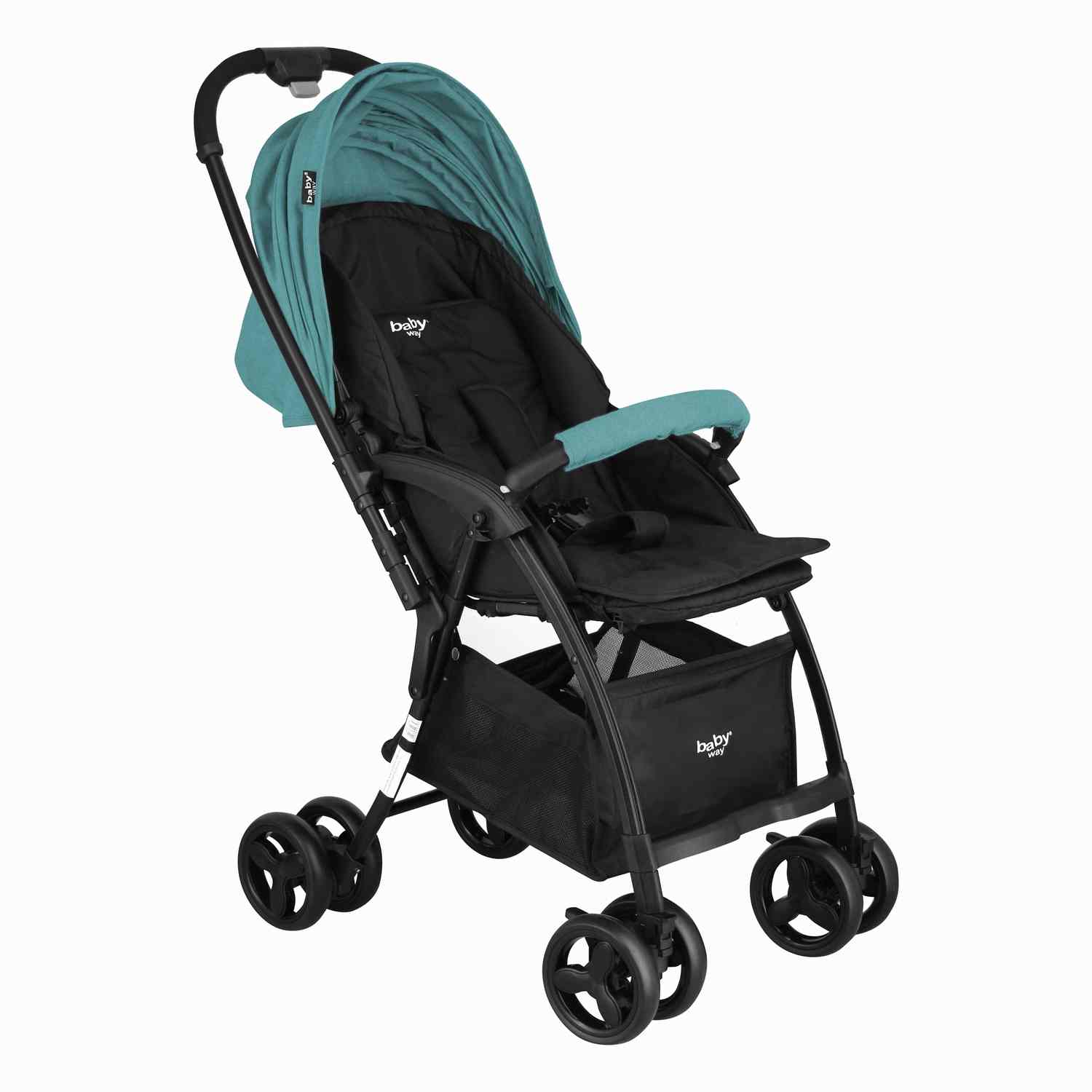 Coche Paseo  Ultra Light Baby Way Bw-208F19 Turquesa