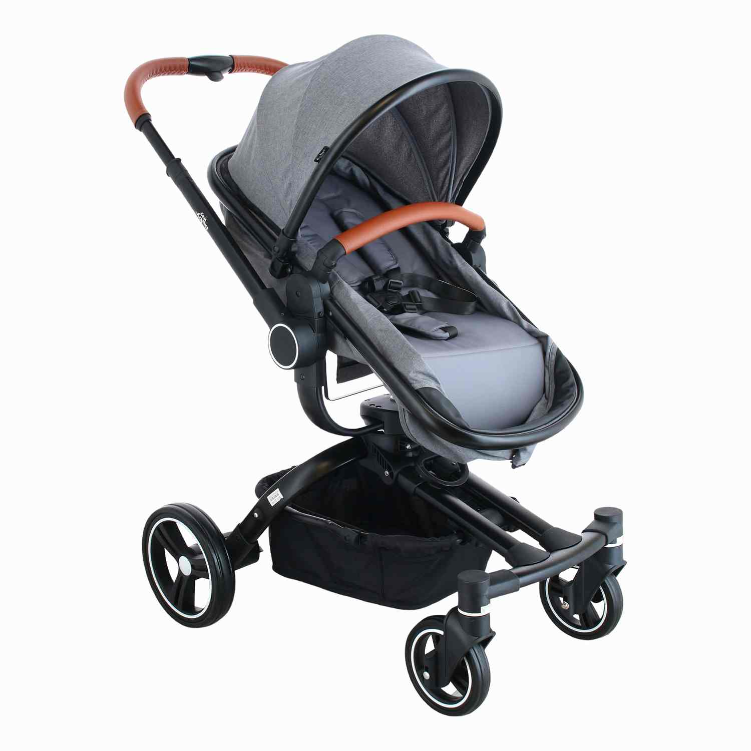 Coche Travel System 360 Baby Way Gris