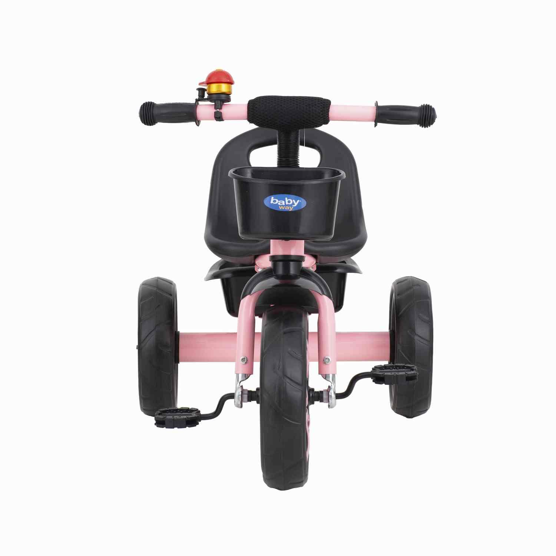 Triciclo Musica Y Luces Baby Way Fucsia