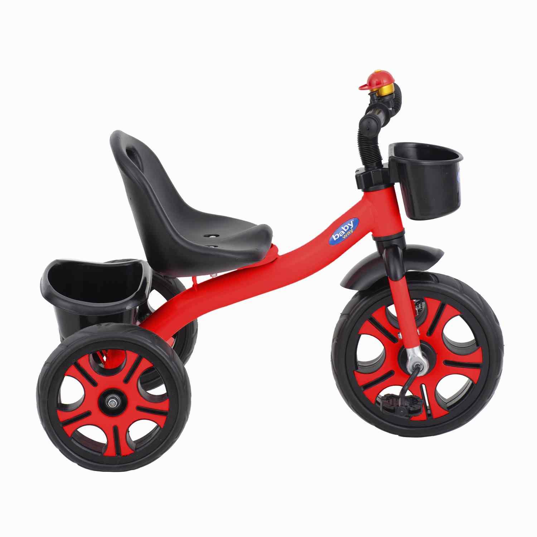 Triciclo Musica Y Luces Baby Way Rojo