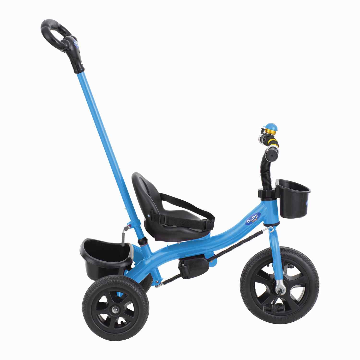 Triciclo Parental Baby Way Azul