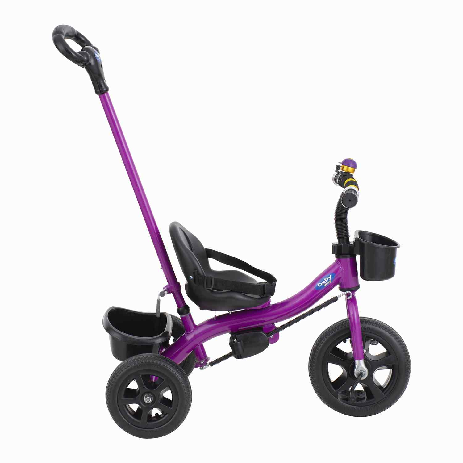 Triciclo Parental Baby Way Fucsia