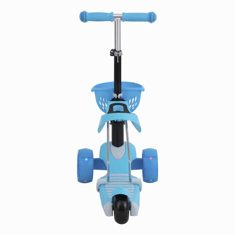 Scooter  2 En 1 Baby Way Azul
