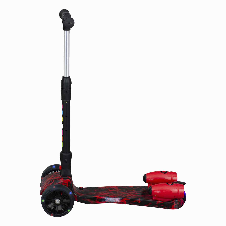 Scooter Con Vapor Luces Y Sonido Bw-513 Rojo