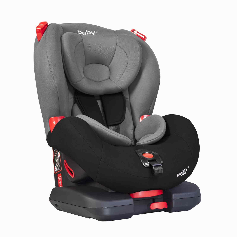 Silla De Auto Isofix Baby Way Gris Bw-748G18