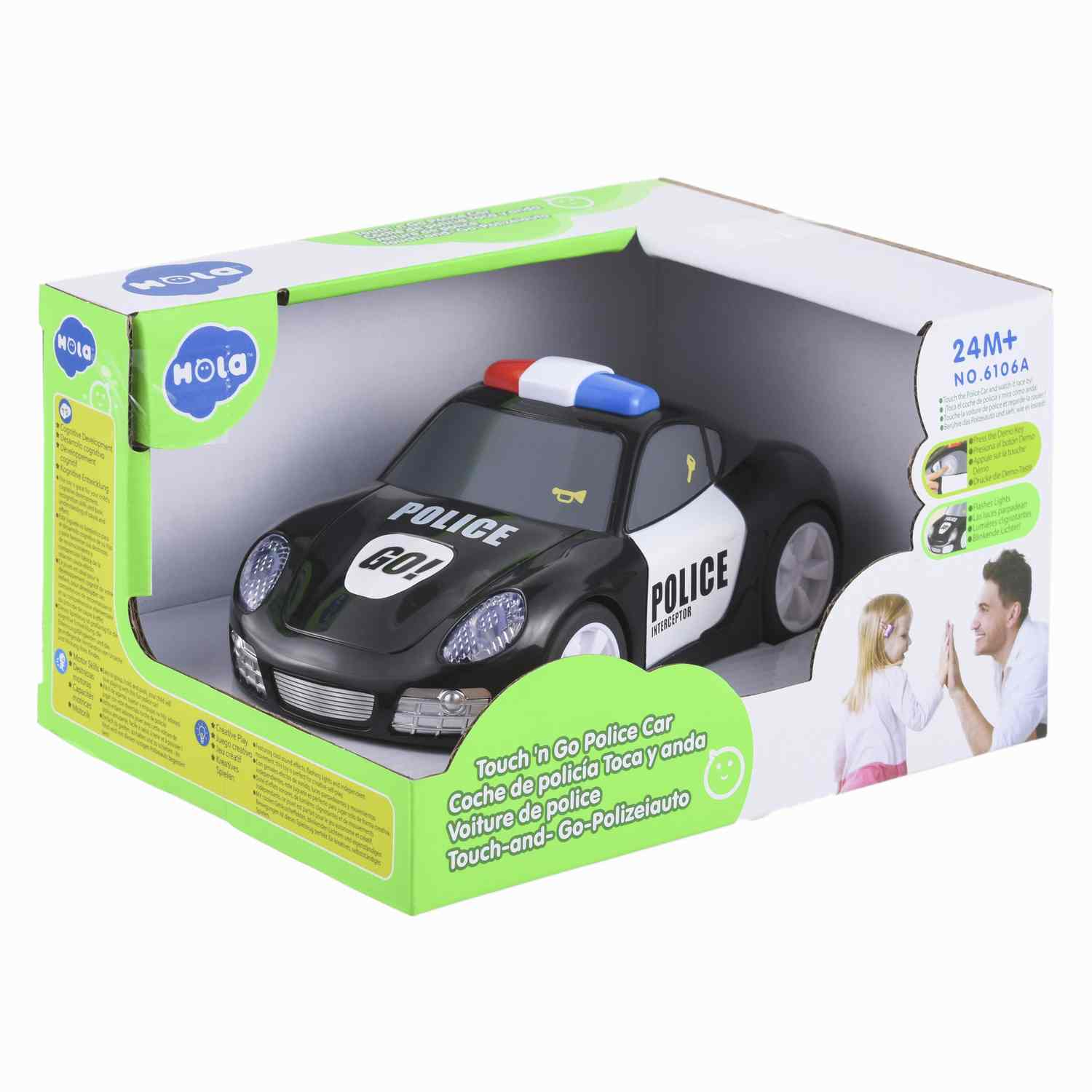 Auto Policial Touch Baby Way