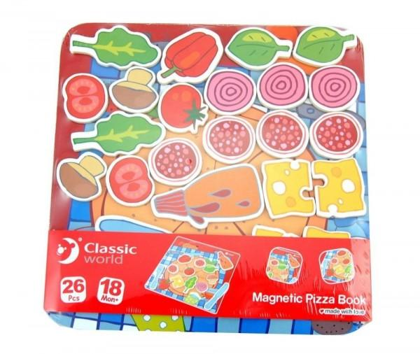 Set Pizza Magnética