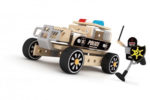 Carro de Policía Armable