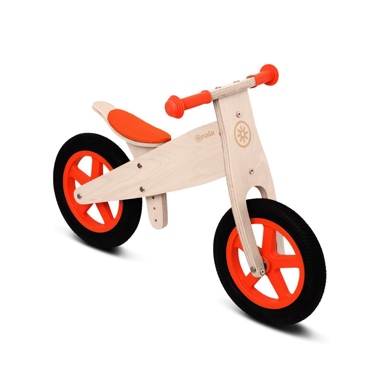 Bicicleta clásica rojo