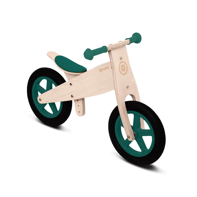 Bicicleta clásica verde